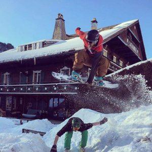 Dino, Josh Chaumiere Jump